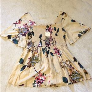 Blushing Florals Top *Never worn*